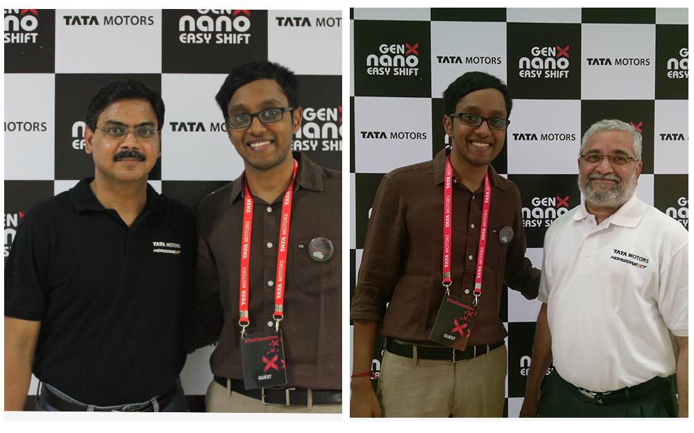 Mr. Girish, VP,Tata Motors & Hemanth Kulkarni, Plant Head,Sanand