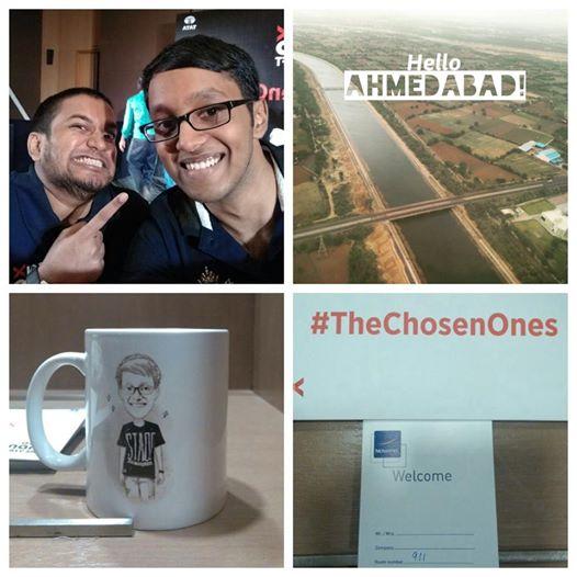 #TheChosenOnes reach Ahmedabad to a warm reception by Tata Motors Team